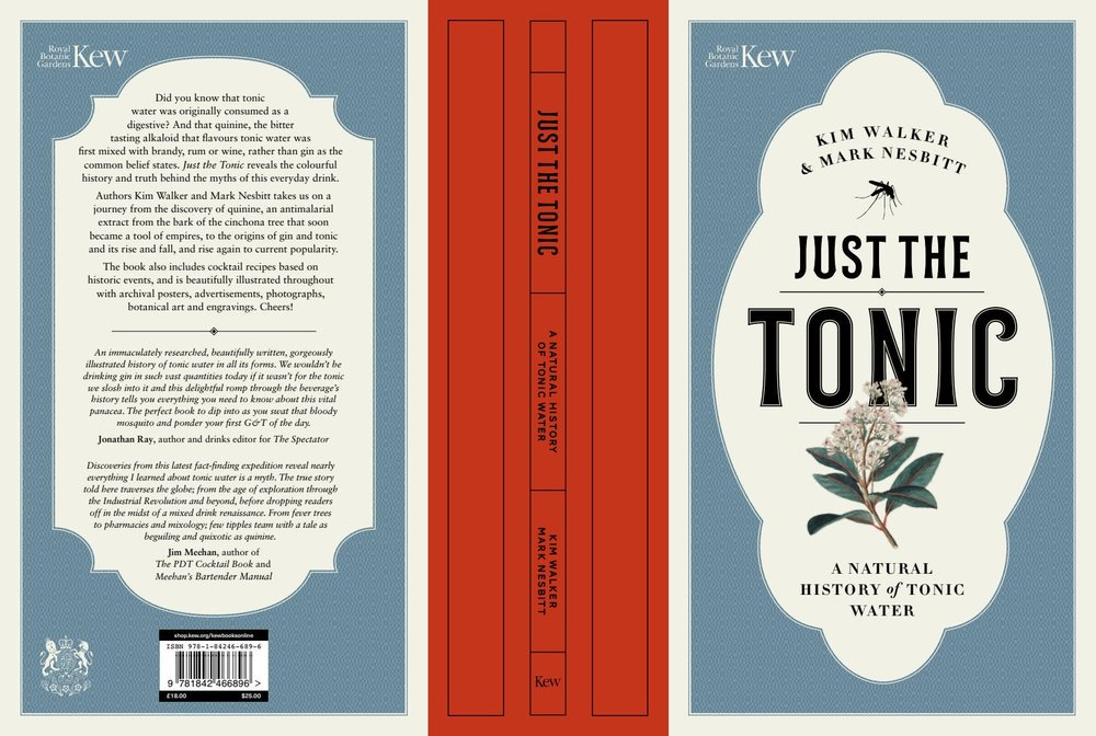"""dnataly - """"Just the tonic: A natural history of tonic water is out!"""""""